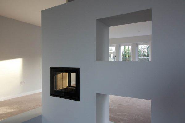 House 1 Fireplace